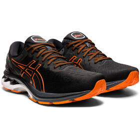 asics Gel-Kayano 27 Sko Herrer, black/marigold orange